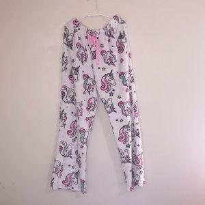 Justice Pajamas - Unicorn Fluffy Pajama Pants 😍😍!